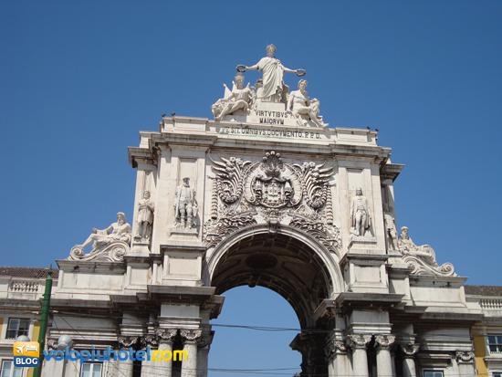 Arco Triunfal di Rua Augusta a Lisbona