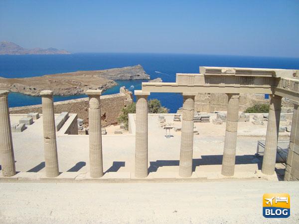 L'acropoli di Lindos