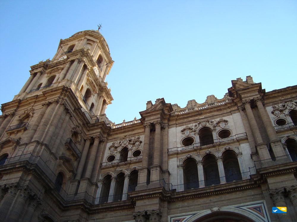 Cattedrale di Malaga altra facciata