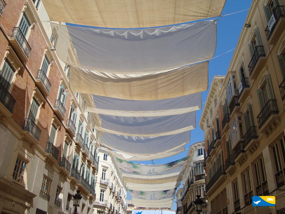 Vie del centro di Malaga