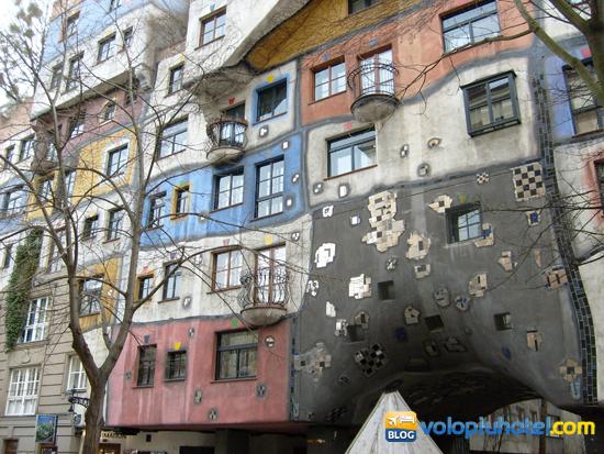 le Hundertwasserhaus a Vienna