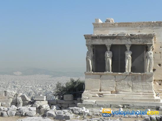 L'antico tempio di Atena Poliàs