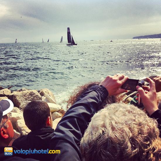 Americas Cup regata a Napoli