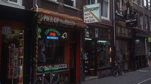 Coffe Shop di Amsterdam