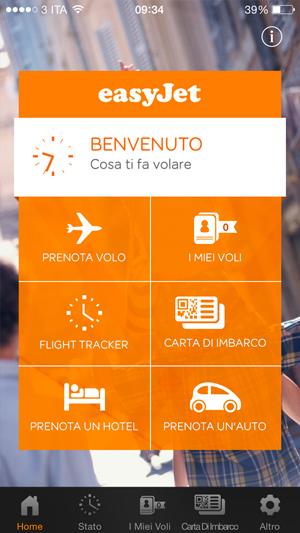 App di Easyjet