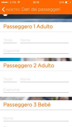 Scelta dei passeggeri