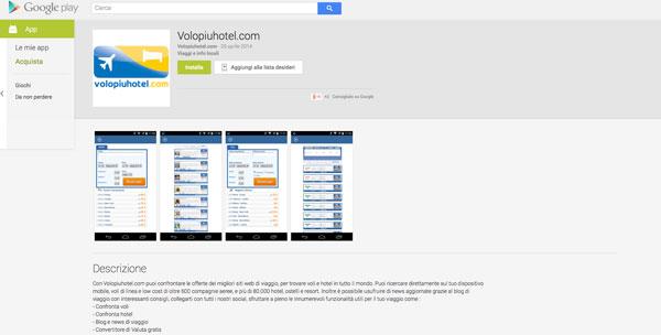 App di Volopiuhotel.com su Google Play