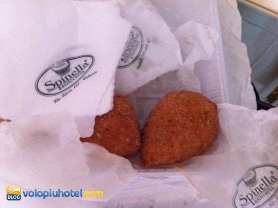 Arancini di Spinella a Catania