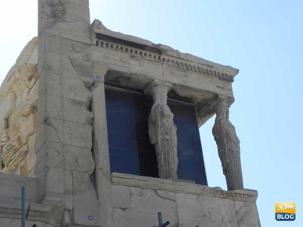 Loggia delle Cariatidi ad Atene