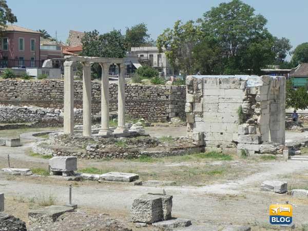 Agorà di Atene veduta interna