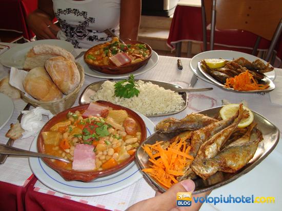 Piatti della cucina tipica di Lisbona