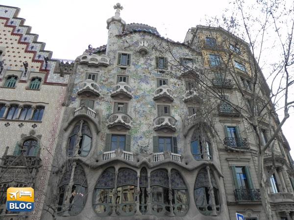 Casa Batllò a Barcellona