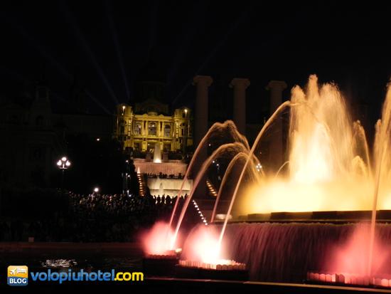 La fontana Magica di Montjuic