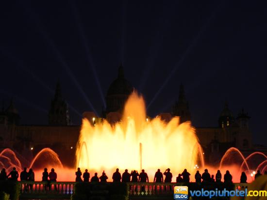 Tre giorni a Barcellona - Montjuic e la Fontana Magica