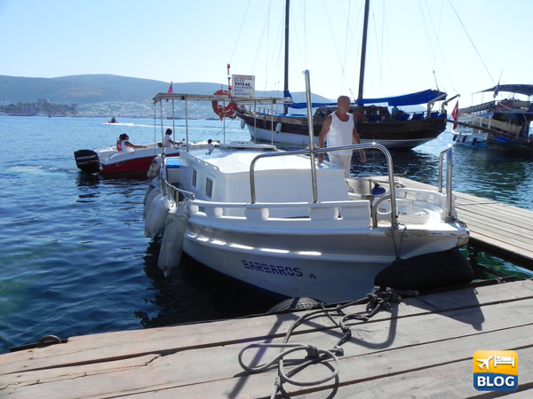 Taxi Boat da Bodrum a Bardacki Bay