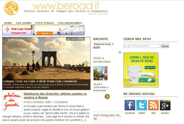 Beroad.it il blog di Valentina Besana