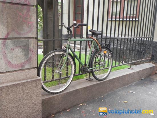 Bicicletta ad Amsterdam