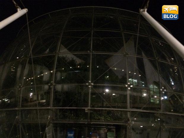 Biosfera di notte