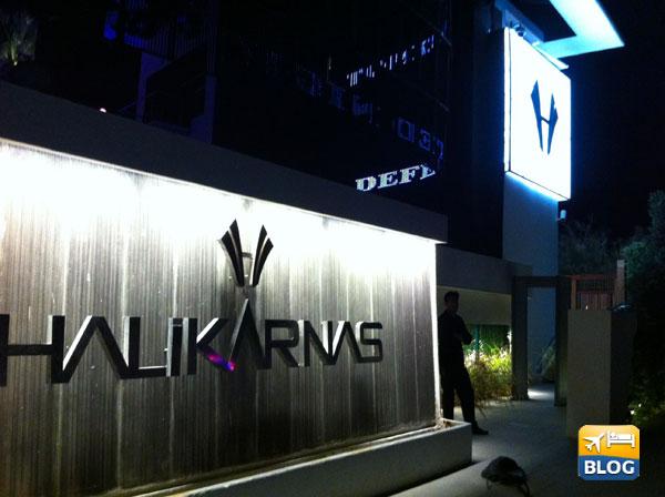 Discoteca Halikarnas a Bodrum