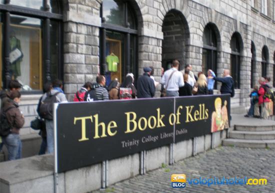 Book of Kells al Trinity College di Dublino
