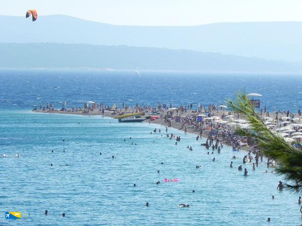 Zlatni Rat a Brac in Croazia