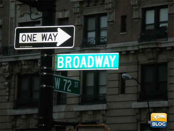 Broadway indicazioni stradali