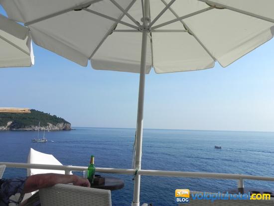 Terrazza del Cafè Buza a Dubrovnik