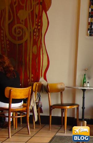 Interno del Cafè Klimt