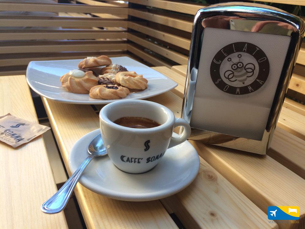 Colazione al Caffè Somma di Terracina