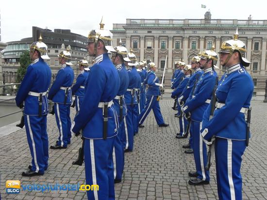 Il cambio della Guardia a Stoccolma