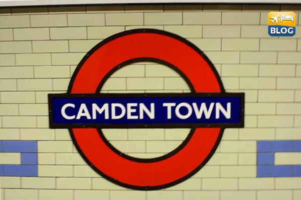 Camden Town metro station