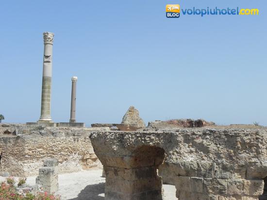 Altra veduta delle Terme di Antonino