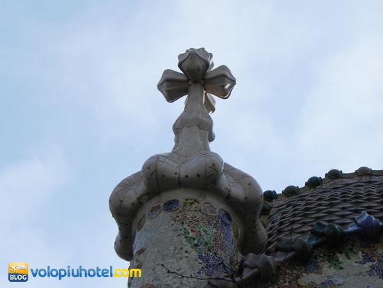 Particolare di Casa Batllò a Barcellona