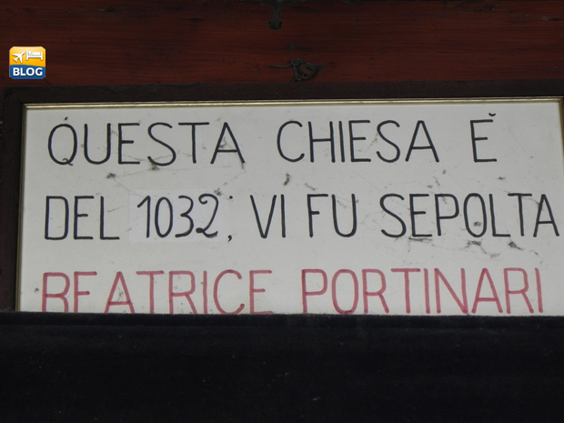 Scritta Chiesa di Santa Margherita