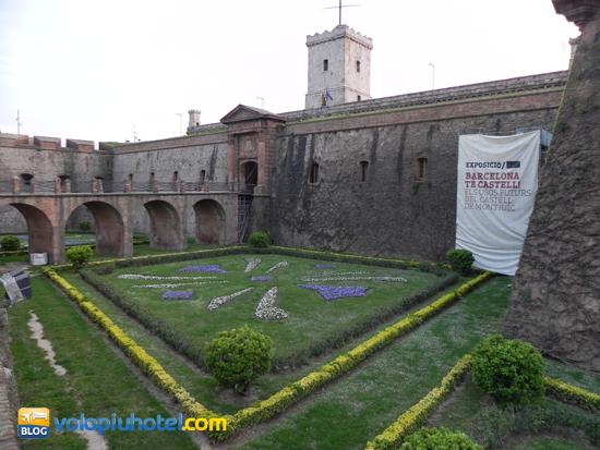 il castello ed il museo di Montjuic