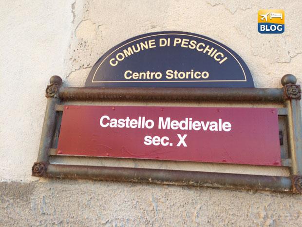 Indicazioni per il castello