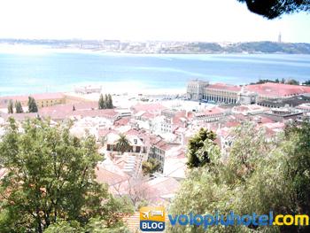 Veduta di Lisbona dalla Torre di Ulisse