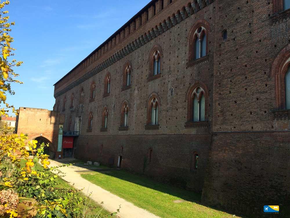 Castello parte esterna