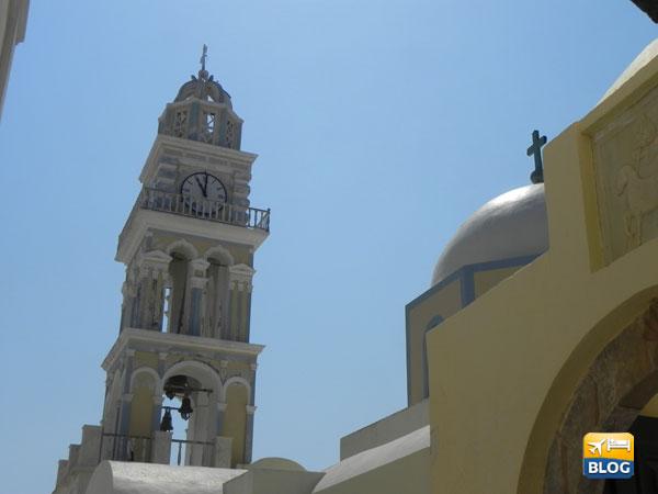 Il Campanile della Cattedrale di Santorini
