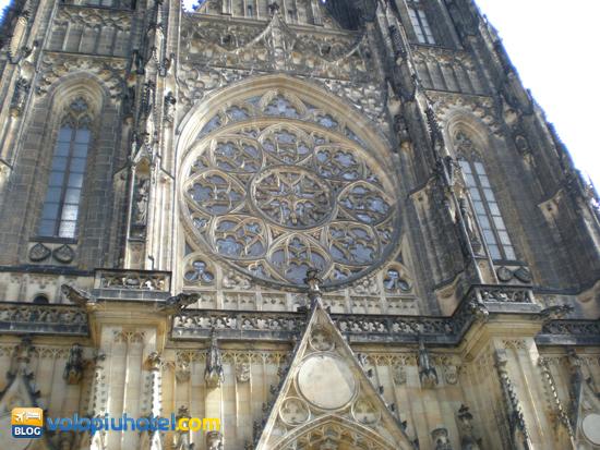 Facciata della Cattedrale di San Vito a Praga