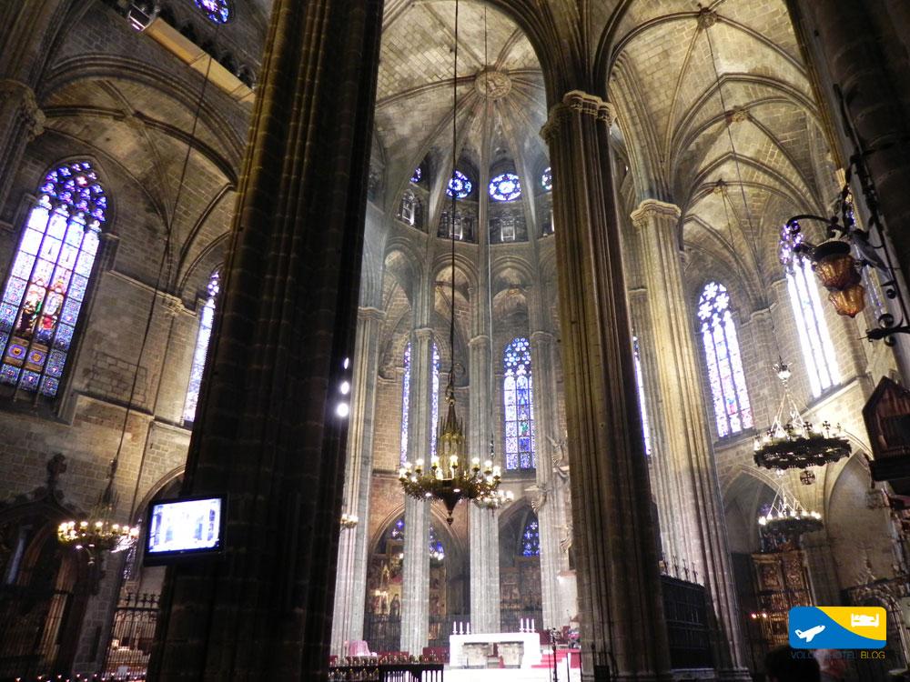 Cattedrale di Barcellona interno