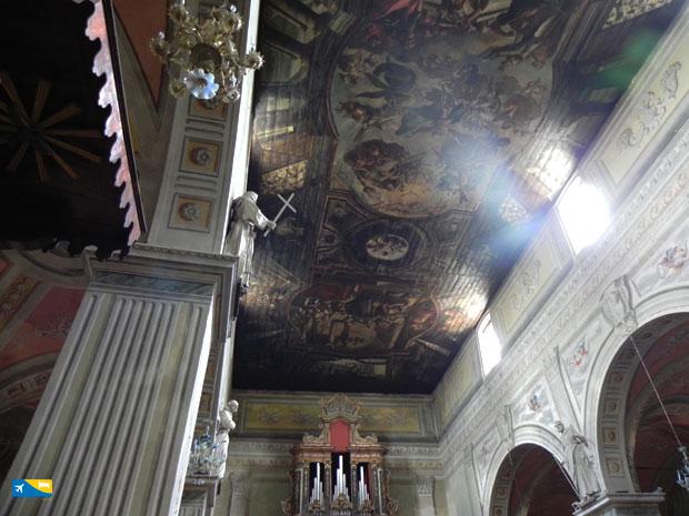 Navata centrale della Cattedrale di Campli