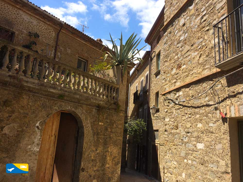 Alcuni vicoli del centro storico di Acciaroli