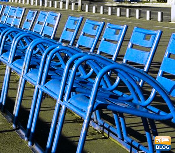 Le sedie blu di Nizza
