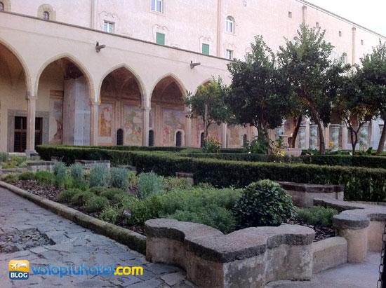 I giardini del Chiostro di Santa Chiara