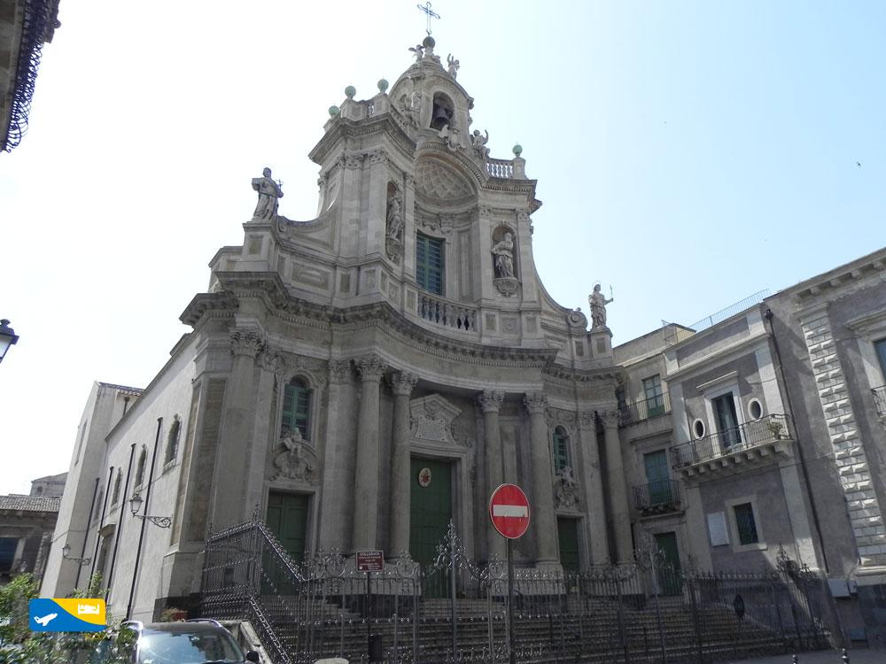 Chiesa Colegiata a Catania