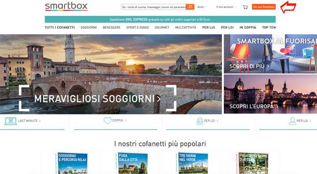 Sito web Smarbox
