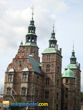 Il castello di Rosenborg a Copanghen