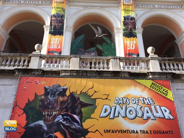 Days of Dinosaur a Napoli