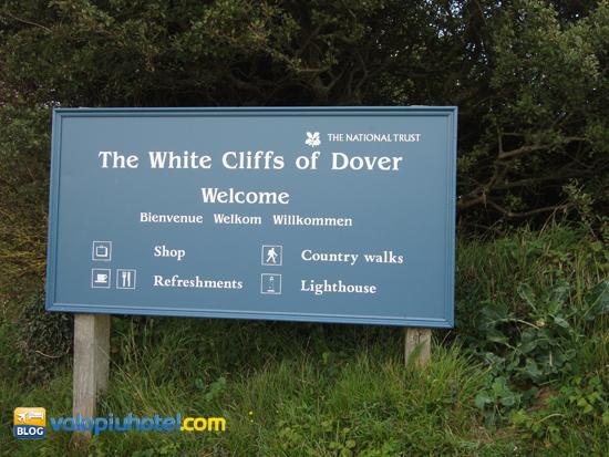 La tabella del White Cliffs of Dover